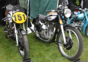 Colin's Manx with Chris N's Inter