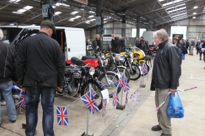 Part of another varied display of our much loved Nortons