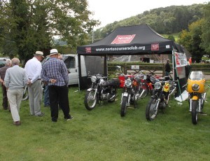 Our Stand at the first Blood Riders event at Shelsley Walsh 2015